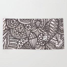 Doodle 10 Beach Towel