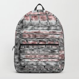 Gray and Pink Haze Backpack