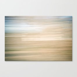 Sweeping Lines Canvas Print