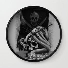Pirate Tentacle Wall Clock