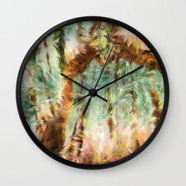 Jungle Abstract Wall Clock