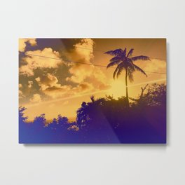 Sunset in the West Indies Metal Print