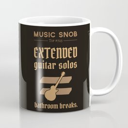 Solos = DON'T GO-s! — Music Snob Tip #723 Coffee Mug