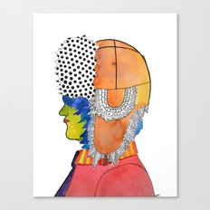 Trapper Hat Canvas Print