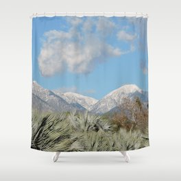From Chaparral To Snow Shower Curtain