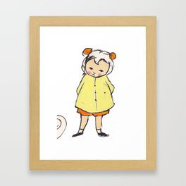 Pippou the Marvel Framed Art Print
