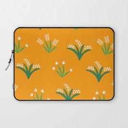 Tropical Flora 4 on Golden Yellow Laptop Sleeve