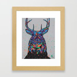 Psychedeeric Framed Art Print