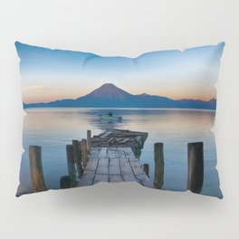 The Dock Sunset (Color) Pillow Sham