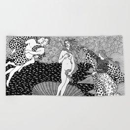 Venus - Botticelli Beach Towel