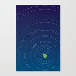 Calm leaf II Canvas Print