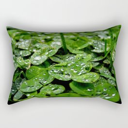 Bedazzled clovers Rectangular Pillow