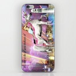 """""""It's Not A Lie If You Believe It"""" iPhone Skin"""