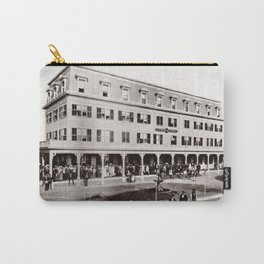 1880 Riverside Hotel, East Providence, Rhode Island Vintage Photograph Carry-All Pouch