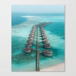 Maldives Canvas Print