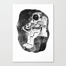 astronaut in space Canvas Print