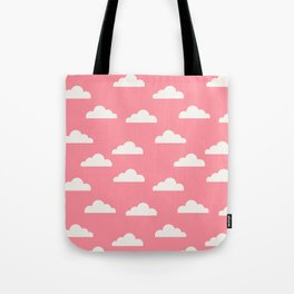 Clouds Pink Tote Bag