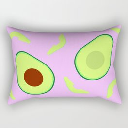 Avocado Party Rectangular Pillow