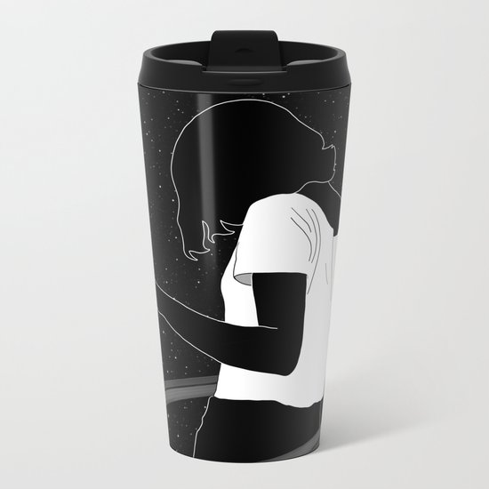 Saturn Metal Travel Mug