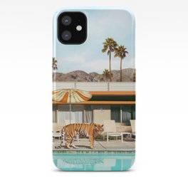 Pool Party Tiger iPhone Case