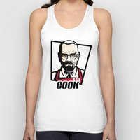 cook Tank Tops featuring Heisenberg Cook by Maioriz Home