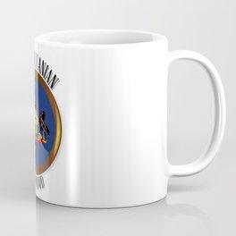 Pennsylvania Proud Flag Button Coffee Mug