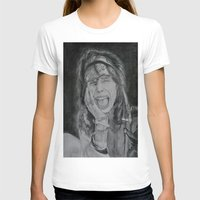 tyler spangler T-shirts featuring Steven Tyler by Jenn