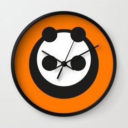 A Most Minimalist Panda  Wall Clock