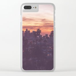 California, Los Angeles, beach, seaside, ocean, surf, downtown, Cali, SoCal Clear iPhone Case