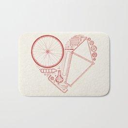 Love Bike Bath Mat