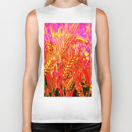 Wheat Pattern #Society 6 # buy art  #decor Biker Tank