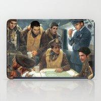 teen wolf iPad Cases featuring Teen Wolf Pilot AU by DeadPlants