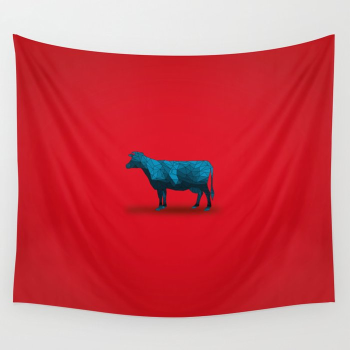 Holy Cow...  Wall Tapestry