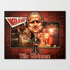 The Godfather concept! Canvas Print
