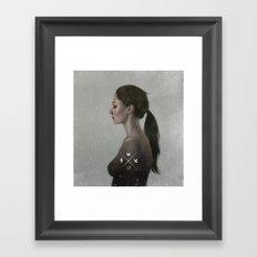 Visceral Lullaby  Framed Art Print