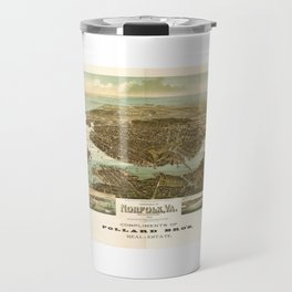 Panorama of Norfolk, Virginia and Surroundings (1892) Travel Mug