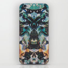 Rorschach Flowers 7 iPhone Skin