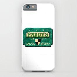 Paddy's Pub iPhone Case