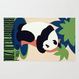Vintage poster - Brookfield Zoo Rug