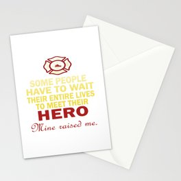 FIREFIGHTER'S DAUGHTER Stationery Cards