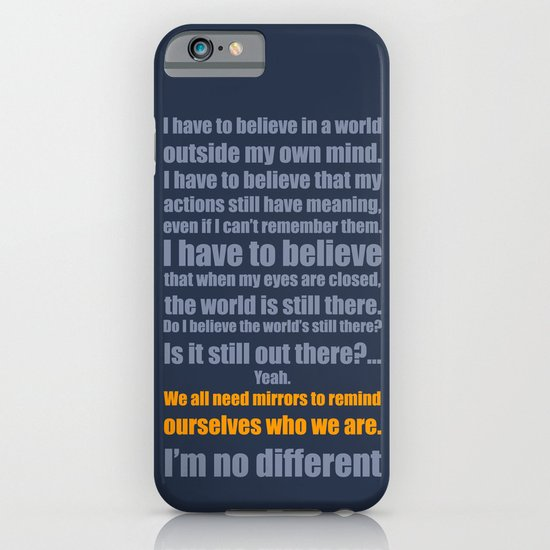 We All Need Mirrors iPhone & iPod Case