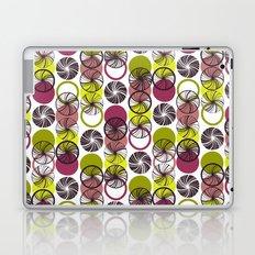 Black Border Abstract Circles Laptop & iPad Skin