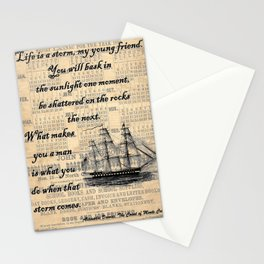 Count of Monte Cristo quote Stationery Cards