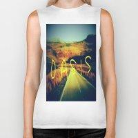 oasis Biker Tanks featuring Oasis by SLIDE