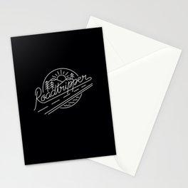 Roadtripper - white Stationery Cards