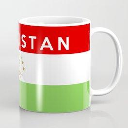 flag of Tajikistan Coffee Mug