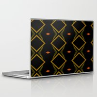 diamonds Laptop & iPad Skins featuring Diamonds by Sara Messenger