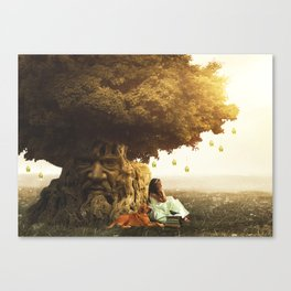 """The Wisdom Tree""  Canvas Print"