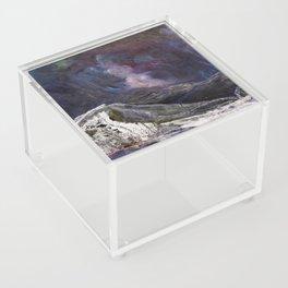 Northern Mountain Acrylic Box