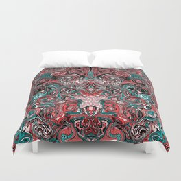 Abstract mess I Duvet Cover